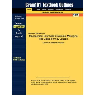 9780131579842: Management Information Systems Managing the Digital Firm 10th International Edition 2007