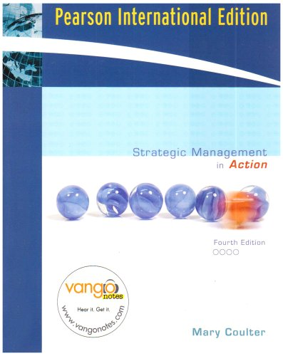 9780131579873: Strategic Management in Action