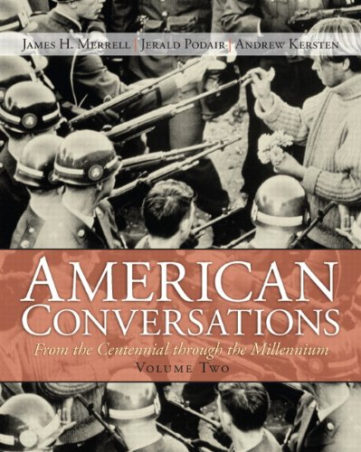 9780131582613: American Conversations: From Centennial through Millennium, Volume 2