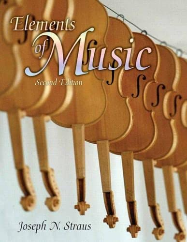 9780131584150: Elements of Music, 2nd Edition (Text only)