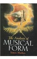 9780131584242: ANALYSIS OF MUSICAL FORM& CD PKG