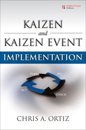 9780131584563: Kaizen and Kaizen Event Implementation