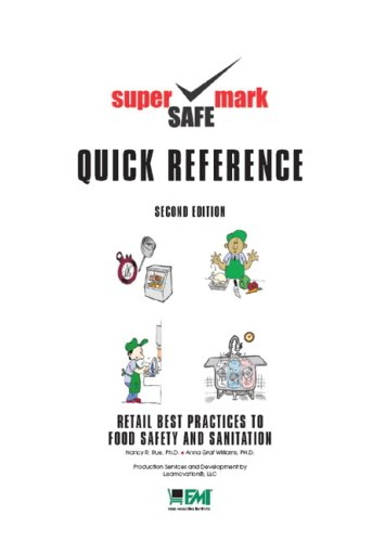 9780131584587: Retail Best Practices and Quick Reference Guide to Food Safety & Sanitation (2nd Edition)
