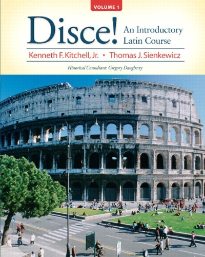 9780131585317: Disce! An Introductory Latin Course, Volume 1