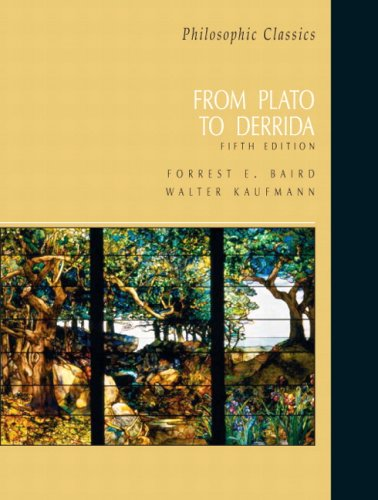 9780131585911: Philosophic Classics: From Plato to Derrida (5th Edition)