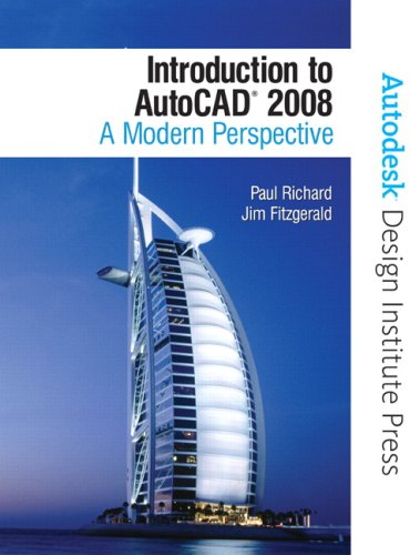 9780131586796: Introduction to AutoCAD 2008: A Modern Perspective (Autodesk Design Institute Press)