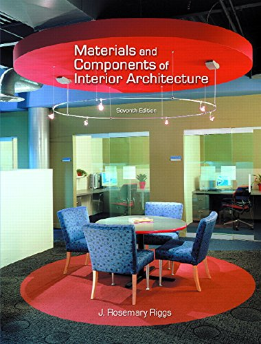 9780131587045: Materials and Components of Interior Architecture (7th Edition)