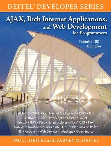 9780131587380: AJAX, Rich Internet Applications, and Web Development for Programmers