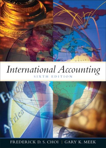 9780131588141: International Accounting (6th Edition)