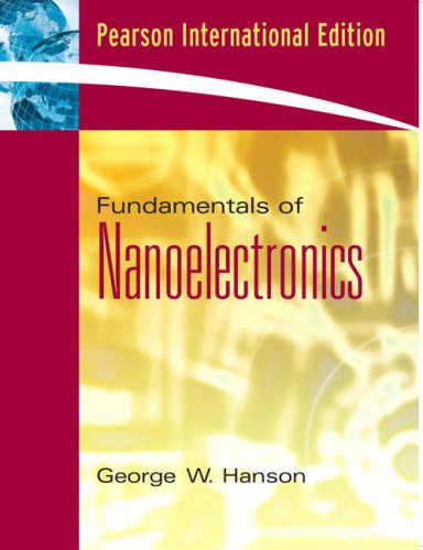 9780131588837: Fundamentals of Nanoelectronics: International Edition