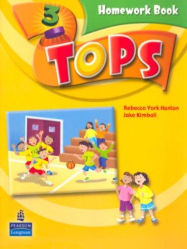 9780131588912: Tops Homework Book: Level 3