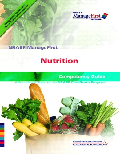 9780131589063: NRAEF ManageFirst: Nutrition with On-line Testing Access Code Card