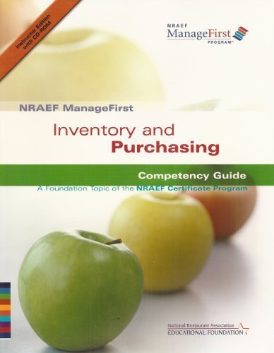 9780131589094: NRAEF ManageFirst Program Inventory and Purchasing Competency Guide (2007)