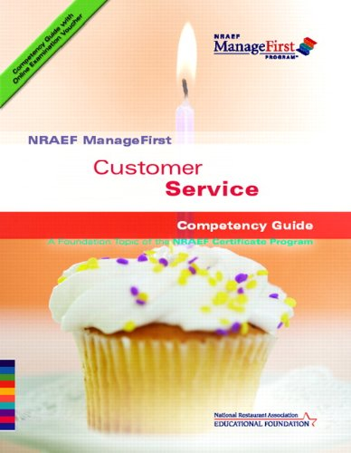 9780131589131: NRAEF ManageFirst: Customer Service w/ On-line Testing Access Code Card