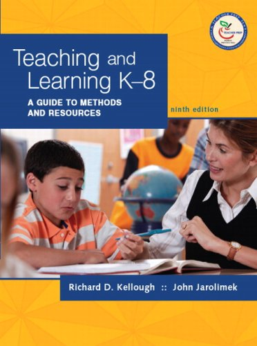 9780131589629: Teaching and Learning K-8: A Guide to Methods and Resources (9th Edition)