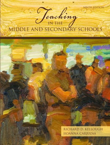 9780131589742: Teaching in the Middle and Secondary Schools (9th Edition)
