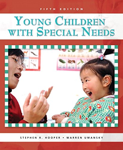 9780131590144: Young Children with Special Needs (5th Edition)