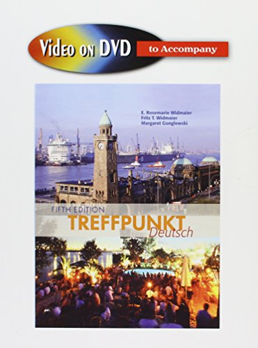 9780131590267: Video on DVD for Treffpunkt Deutsch: Grundstufe