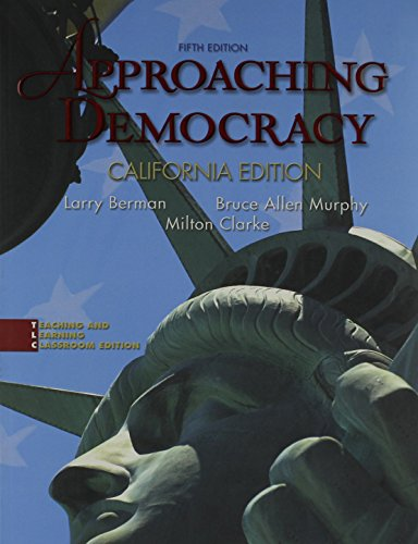 9780131590410: Approaching Democracy