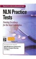 9780131590649: NLN RN Reviews & Rationales Medical-Surgical Nursing Online Test Access Code Card