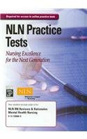 9780131590663: NLN RN Reviews & Rationales Mental Health Nursing Online Test Access Code Card