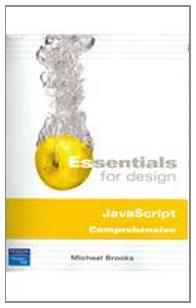 9780131590717: Ess Des JavaScript Comp& S/CD Ess Javasc Lv1 (Essentials for Design)