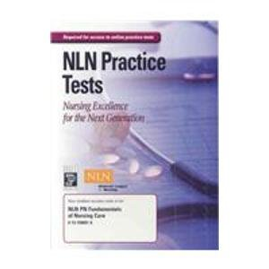 9780131590915: NLN PN Fundamentals of Nursing Care Online Test Access Code Card
