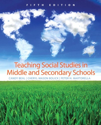 9780131591813: Teaching Social Studies in Middle and Secondary Schools (5th Edition)