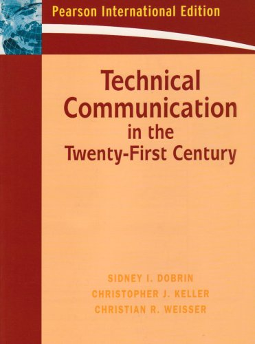 9780131591868: Technical Communication in the Twenty-First Century: International Edition