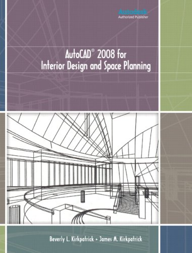 9780131592322: AutoCAD 2008 for Interior Design and Space Planning