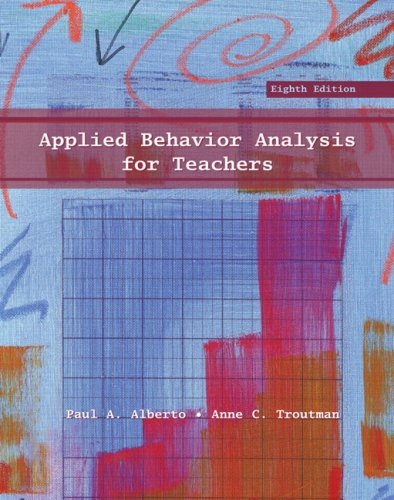 9780131592896: Applied Behavior Analysis for Teachers (8th Edition)