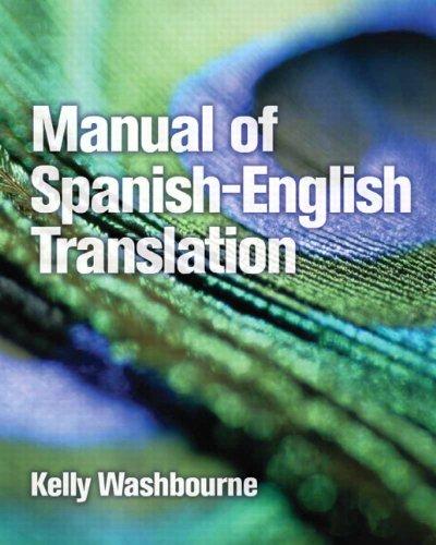 9780131592971: Manual Of Spanish-English Translation