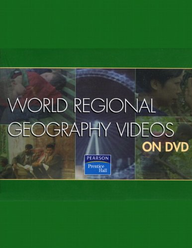 9780131593480: PH World Regional Geography Videos on DVD