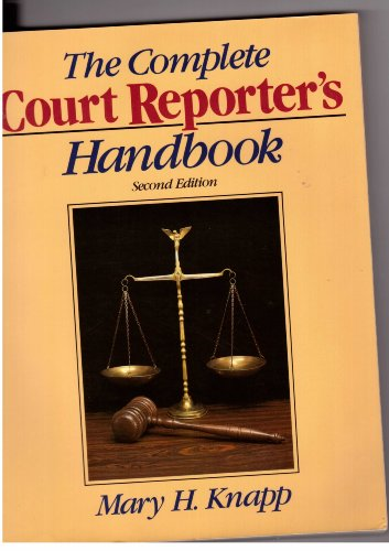 9780131593695: The Complete Court Reporter's Handbook (Prentice Hall Series in Computer Shorthand)