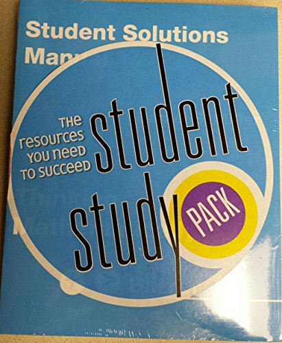 9780131595972: Student Solutions Manual and Study Pack for VP and TC Card