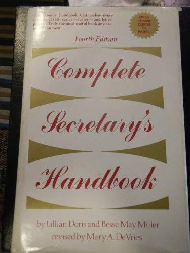 9780131596665: Complete Secretary's Handbook