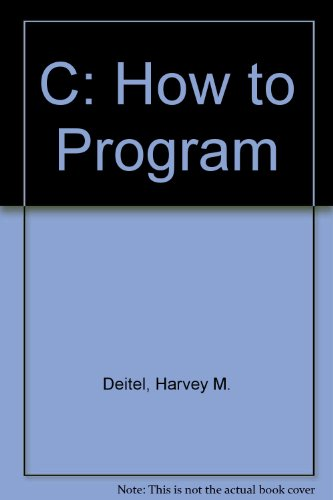9780131596825: C: How to Program