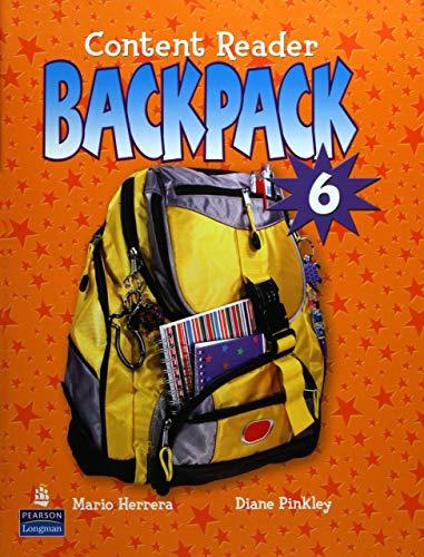 9780131597341: Backpack 6 Content Reader