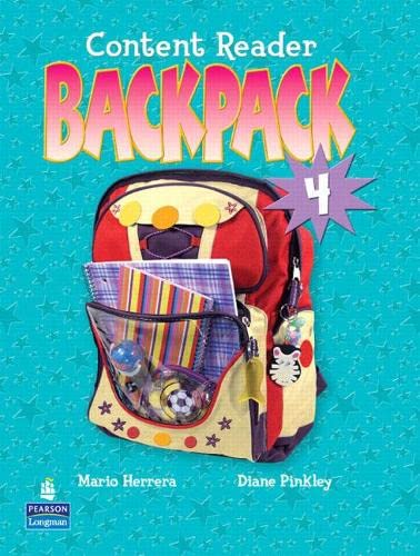Backpack 4 Content Reader: PEARSON