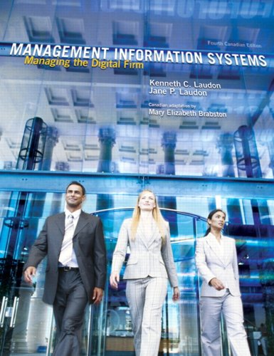 9780131598430: Management Information Systems: Managing the Digital Firm (4th Edition)