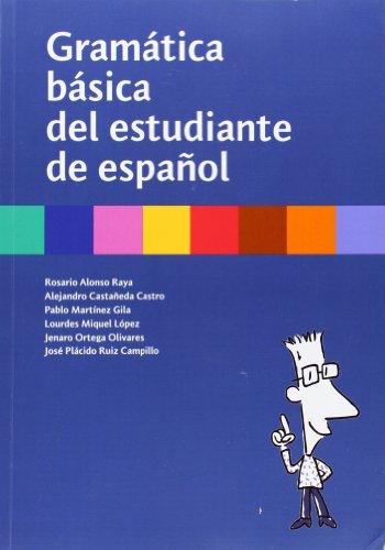 Gramática básica del estudiante de español: S.L. Difusion