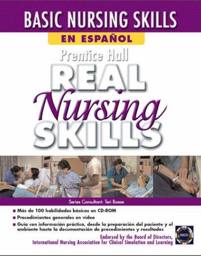 9780131599017: Prentice Hall Real Nursing Skills en Espanol
