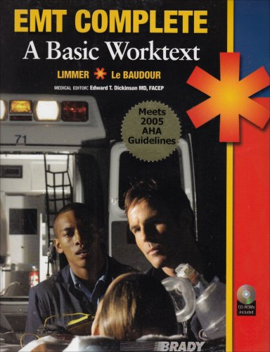 9780131599208: EMT Complete: A Basic Worktext