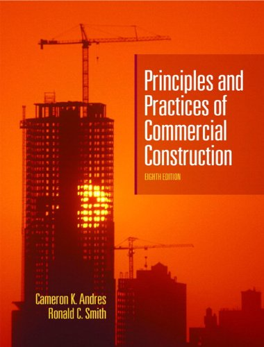 9780131599239: Principles and Practices of Commercial Construction (8th Edition)
