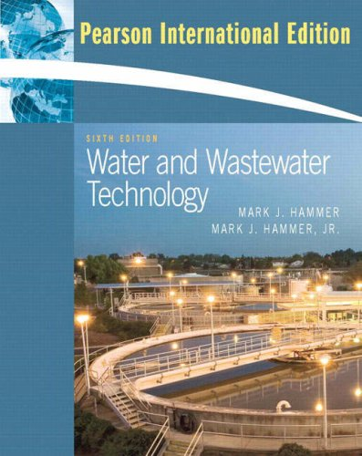 9780131599659: Water and Wastewater Technology: International Edition