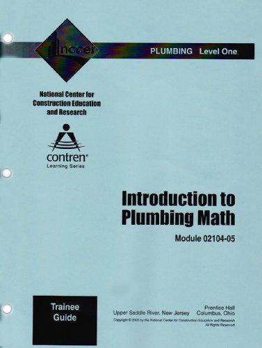 9780131600409: 02104-05 Intro to Plumbing Math TG