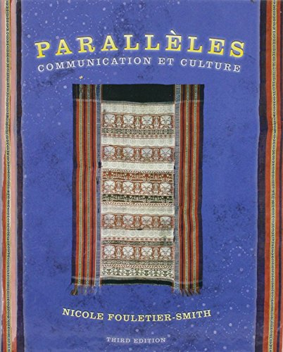 9780131603776: Complete Audio Program on CD with Parall�les: Communication et culture (3rd Edition)