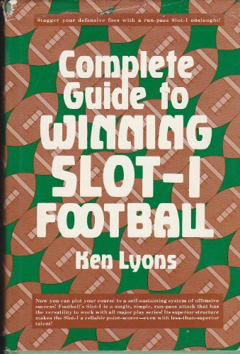 9780131606975: Complete Guide to Winning Slot-I Football