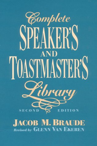 9780131615977: Complete Speaker's and Toastmaster's Library