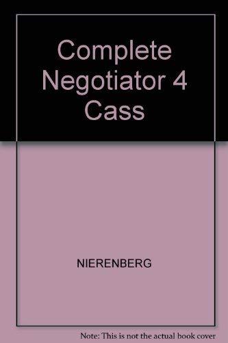 9780131620339: The Complete Negotiator